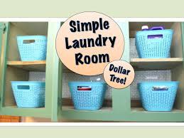 Youtube Organizing by Simple Laundry Room Organizing Dollar Tree Products Youtube