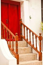 Outdoor Banisters And Railings 21 Elegant Wood Stair Railing Design Ideas Pictures