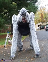 Werewolf Halloween Costumes Girls Giant Werewolf Halloween Costume