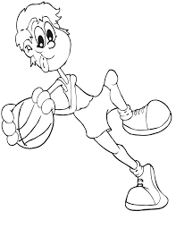 nba players coloring pages basketball coloring pages to print coloring home