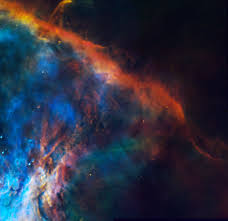 edge of the orion nebula nasa