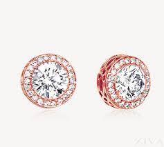 gold diamond earrings lustrous gold diamond earrings