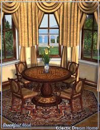 dream home great room breakfast nook eclectic 3d models and
