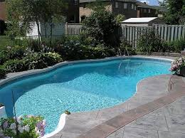 Backyard With Pool Landscaping Ideas Triyae Com U003d Swimming Pool Ideas For Small Backyards Various