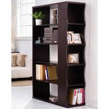 furniture book shelf divider bookcase room dividers