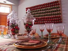 rustic christmas rustic christmas table decorations hgtv