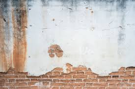 Exposed Brick Wall by White Exposed Brick Concrete Wall Stock Photo Picture And