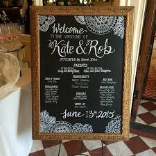 wedding program board wedding program boards wedding tips and inspiration