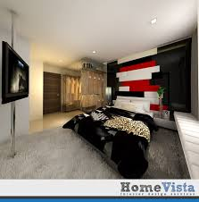 Terrace Interior Design Modern House HomeVista Singapore - Modern house bedroom designs