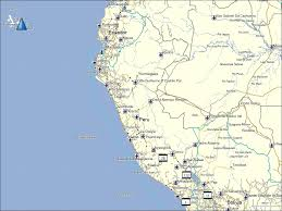 Map Of Bolivia South America by Tramsoft Gmbh Garmin Mapsource South America English