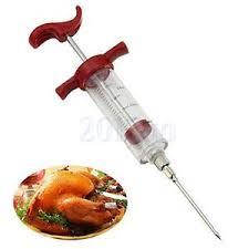 seringue de cuisine 5 aiguille pour sauce barbecue injecteur seringue cuisine gadget bbq