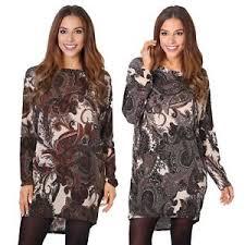 paisley blouse womens oversized vintage paisley shiny lurex tunic top
