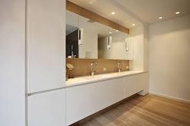 badezimmer einbauschrank moderne villa legno werkstätte für holzarbeiten