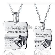 sterling silver engravable jewelry unique sterling silver best friend necklaces jewelry for 2