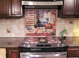 Louisiana Kitchen Tile Backsplash Cajun Art Tiles - Tiles for backsplash kitchen