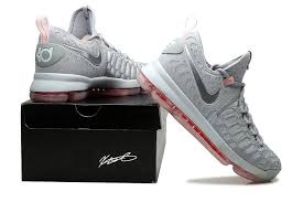 2016 nike kd 9 pre heat wolf grey multi color for sale new