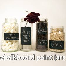labels for kitchen canisters chalkboard paint jars 5 steps with pictures