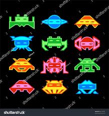 custom designed space aliens similar old stock vector 62157091