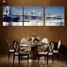 compare prices on cityscape sticker art online shopping buy low three square art canvas painting home wall home decor digital painting