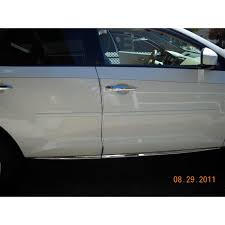nissan murano 2009 2011 painted body side moldings spoiler and