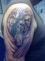 beautiful examples of designs angel and demon tattoo tattoomagz
