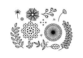free floral ornament vector free vector stock