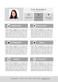 My First Job Resume by Template For First Resume First Time Resume Sample Resume For