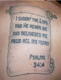 beautiful bible scripture tattoo tattoomagz