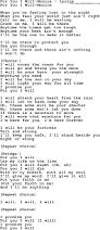 Go Light Your World Love Song Lyrics For For You I Will Monica