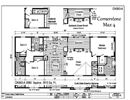 cornerstone homes floor plans cornerstone modular ranch cornerstone max 4 cn363a find a home