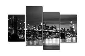 2017 hd canvas print home decor wall art painting new york bridge