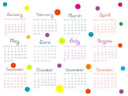 transparent colorful 2016 calendar png image gallery