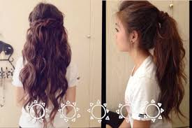 back to fast and easy hairstyles youtube