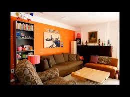 orange livingroom living room paint colors orange youtube