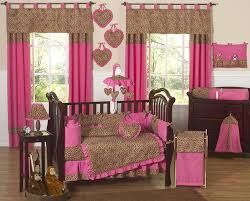 Pink Cheetah Crib Bedding Cheetah Pink Crib Bedding Collection