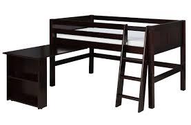 bunk beds u0026 loft beds with desks wayfair