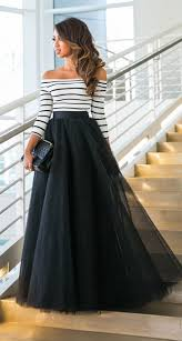 White Tulle Maxi Skirt 25 Maxi Skirt Ideas Stayglam