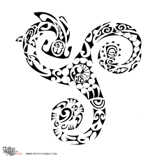 tattoo of triskell triathlon tattoo custom tattoo designs on