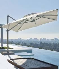 13 Patio Umbrella Altura 13 Ft Square Cantilever Umbrella By Porta Forma 2 095