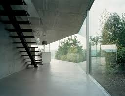 Glass Wall House House With One Wall Christian Kerez Archdaily