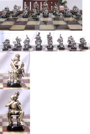 other chess 180348 tigrani modern sterling silver chess