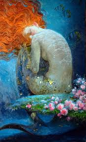 25 mermaid paintings ideas mermaid art