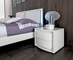 Purple High Gloss Bedroom Furniture White Lacquer Bed Ef Dana Modern Bedroom Furniture