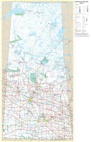 Trans Canada Highway Map by Large Detailed Tourist Map Of Saskatchewan With Cities And Towns