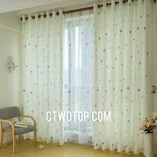 Cute Kids Room Darkening Curtains With Cotton Fabric - Room darkening curtains for kids