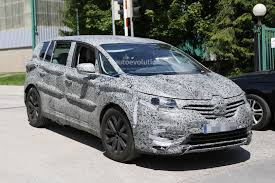 renault espace 2015 2015 renault espace spied with full led lights and new door trim