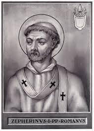 Pope Zephyrinus