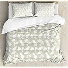King Size Duvet Cover Set Pineapple Bedding Sets And Duvet Covers Beachfront Decor
