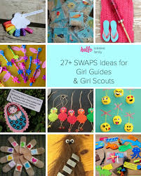 27 swaps ideas for guides and scouts hello creative