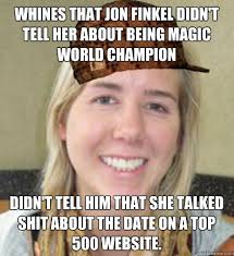 Ok Cupid Meme - sloot uses okcupid finds world chion of magic the gathering